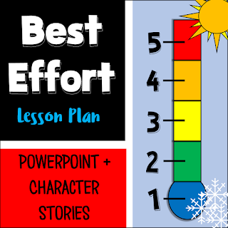 Best effort lesson plan includes Powerpoint plus character stories