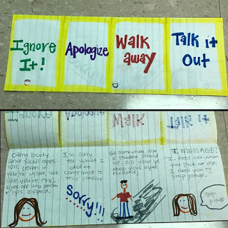 Examples of Kelso's Choice foldables