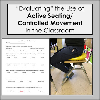 "Controlled Movement/Active Seating Tools – AKA ""That time I actually got really into research and data"""