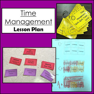 Elementary Lesson Plan: Time Management