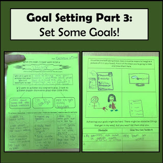 Goal Setting in 4th Grade – Part 3 – Setting Goals