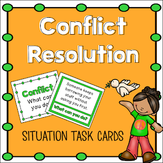 school counseling lesson plan teaching conflict resolution with Kelso's Choices