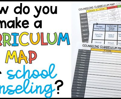Curriculum Mapping for School Counselors: A New Vision