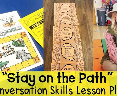 Conversation Skills Lesson Plan: Social Safari