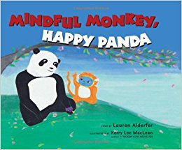 mindful monkey, happy panda