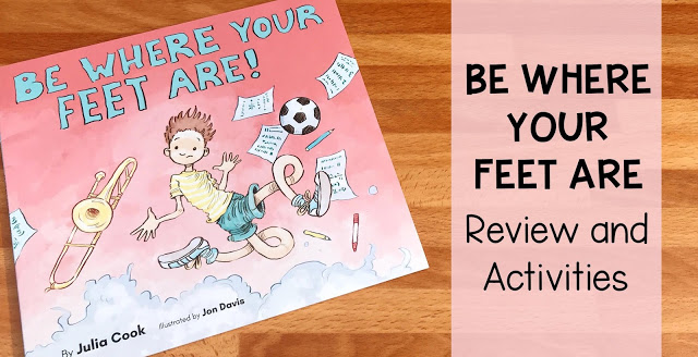 be where your feet are review and activities