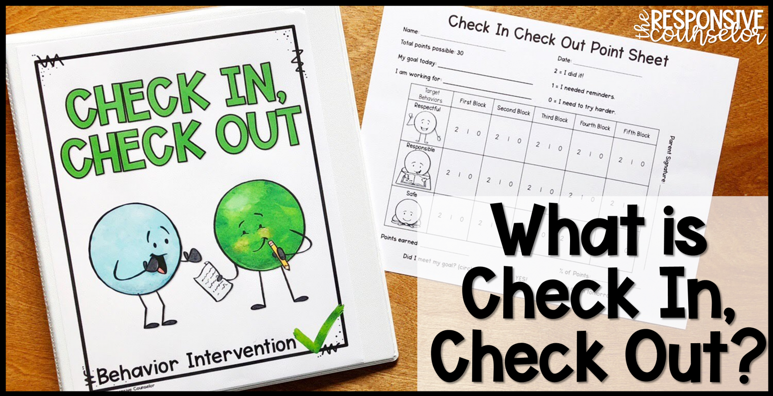Check In Check Out Behavior Intervention