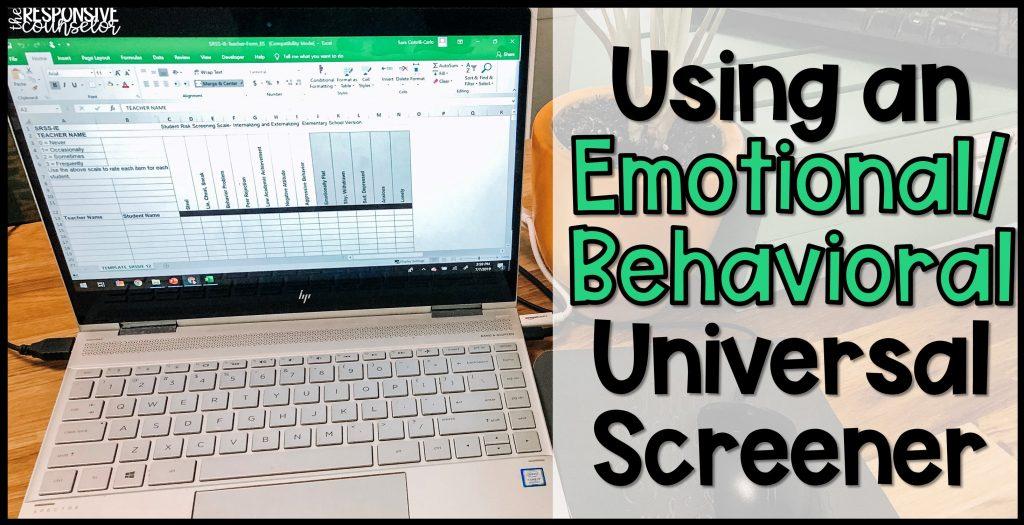 emotional behavioral universal screener