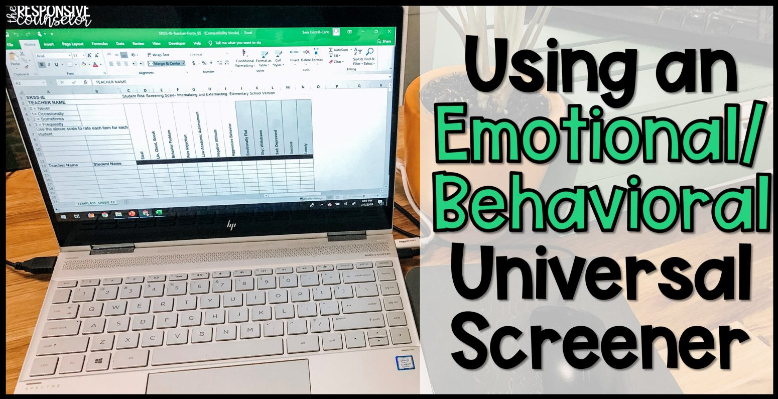 emotional behavioral universal screener