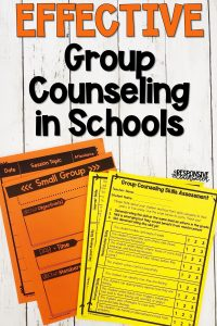 effective group counseling in schools