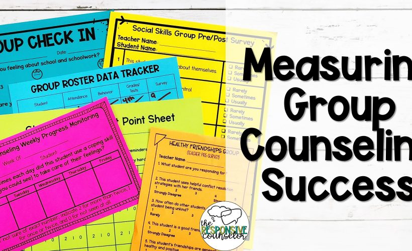 Group Counseling Data: Measuring Success