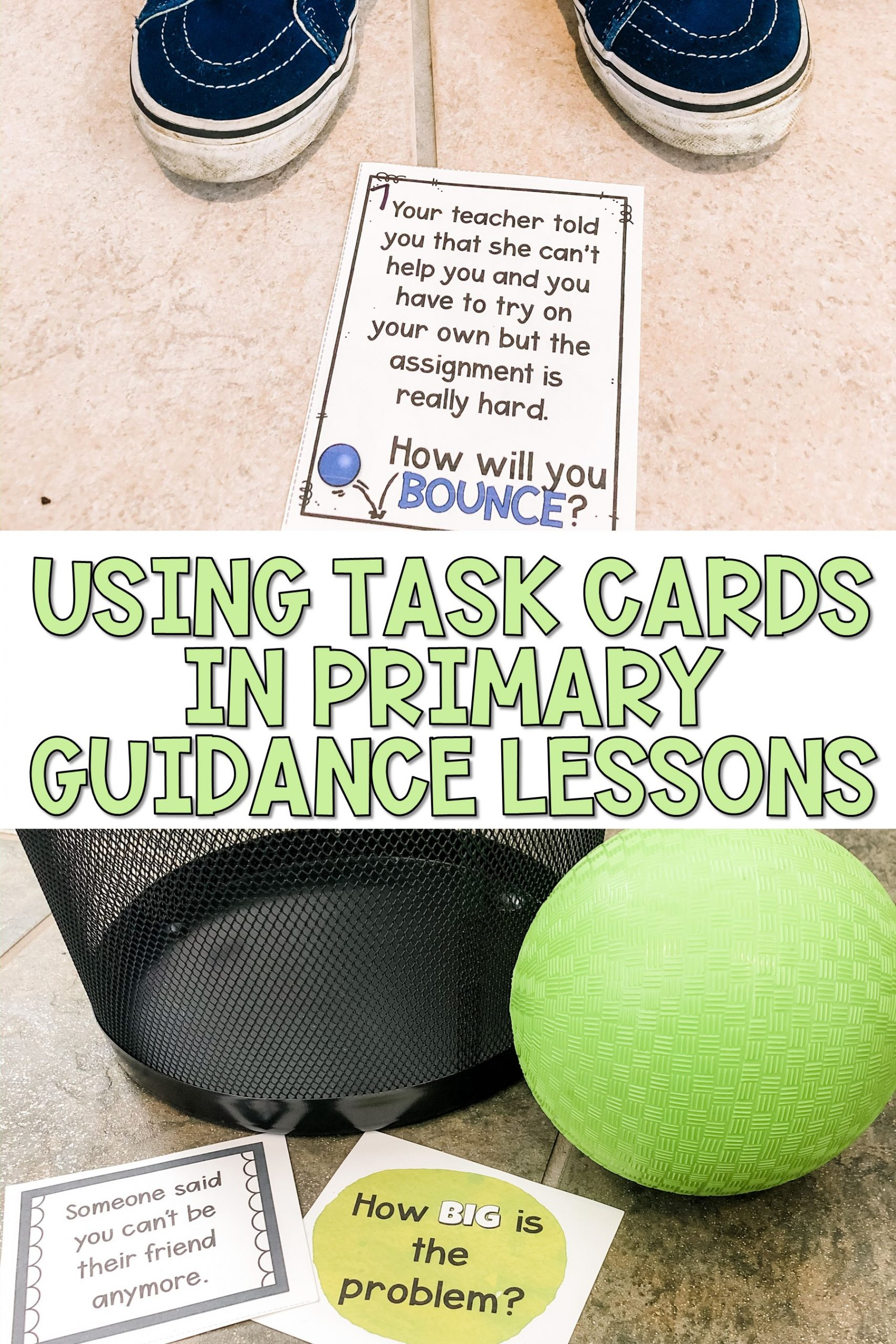using task cards in guidance lessons