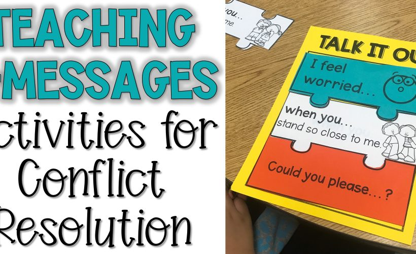 Teaching Talk it Out: I-Message Lesson Plans