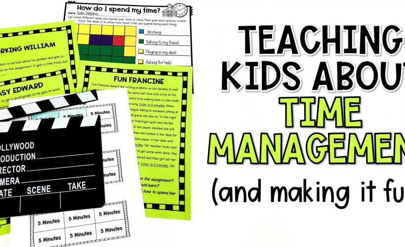 Time Management Lesson Plan