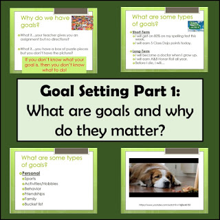 Goal Setting in 4th Grade – Part 1 – All About Goals