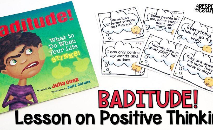 Baditude Lesson Plan