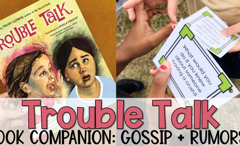 """Trouble Talk"" Companion Lesson Plan"