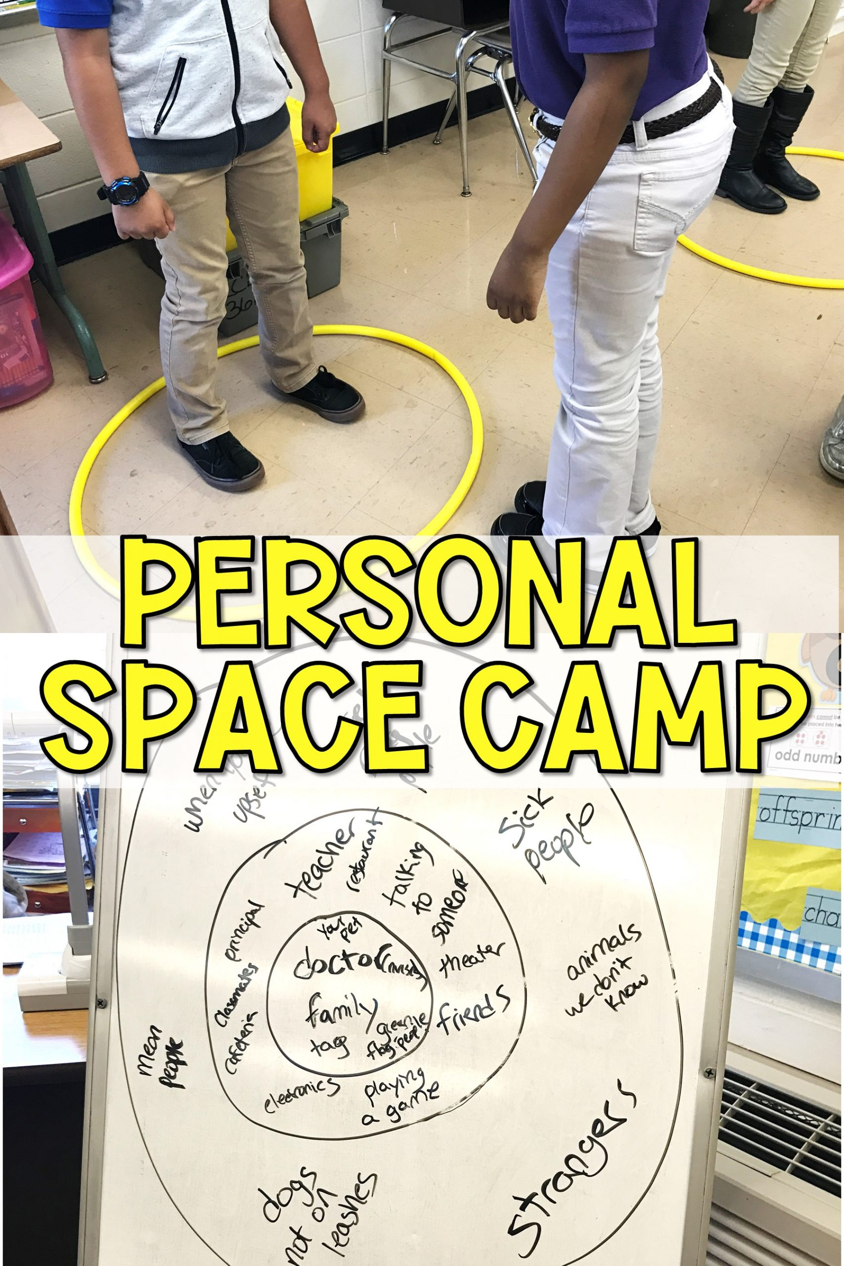Personal Space Camp Lesson The Responsive Counselor