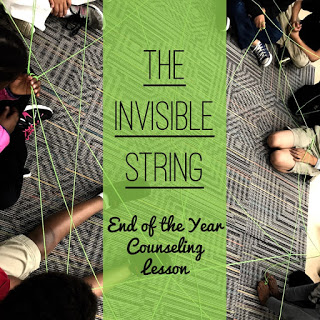 The Invisible String – End of the Year Lesson