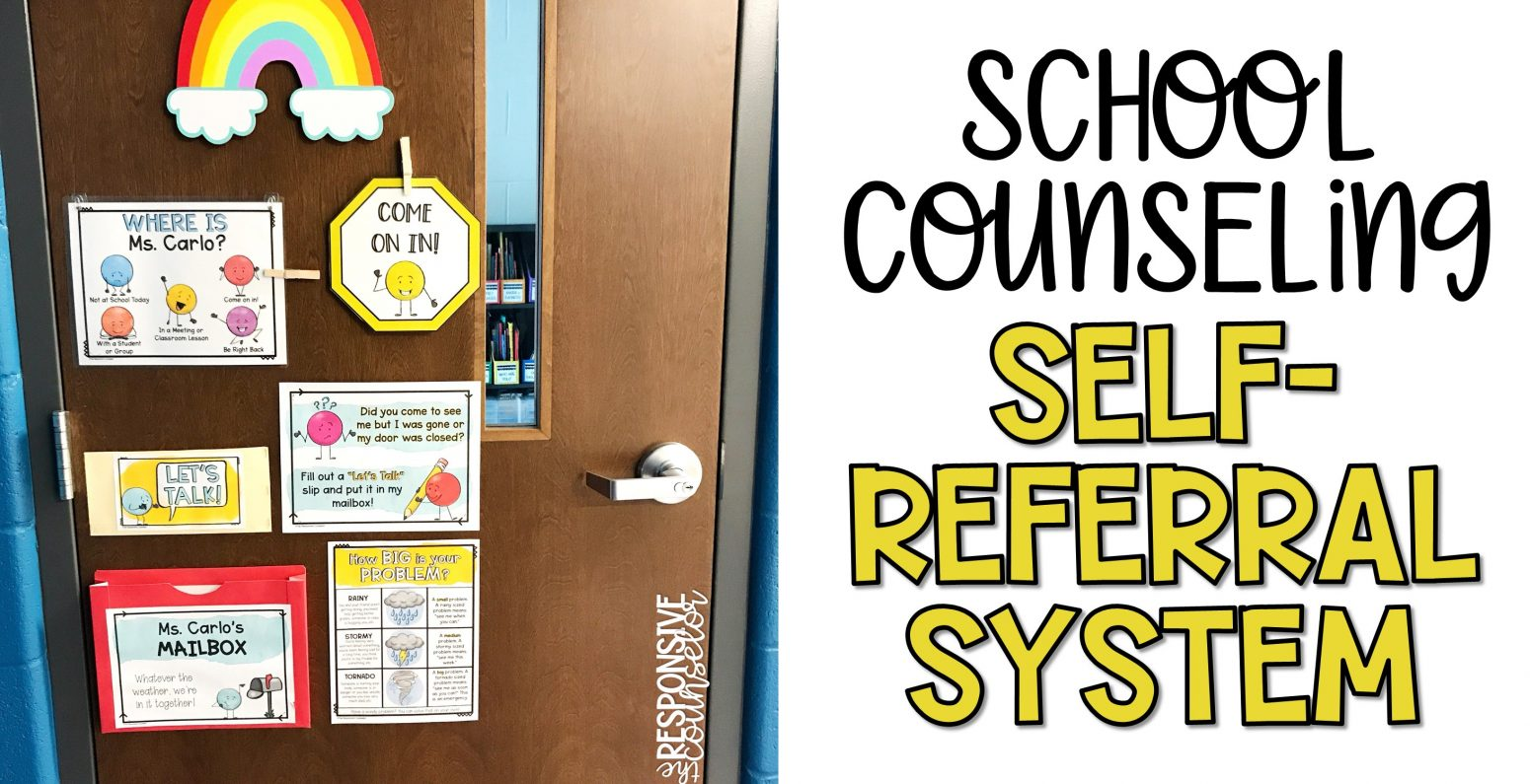 school counseling self-referral system