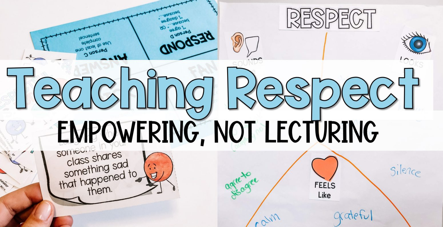 teaching students about respect