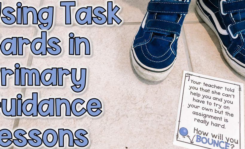 Using Task Cards in Class Lessons With Pre-Readers