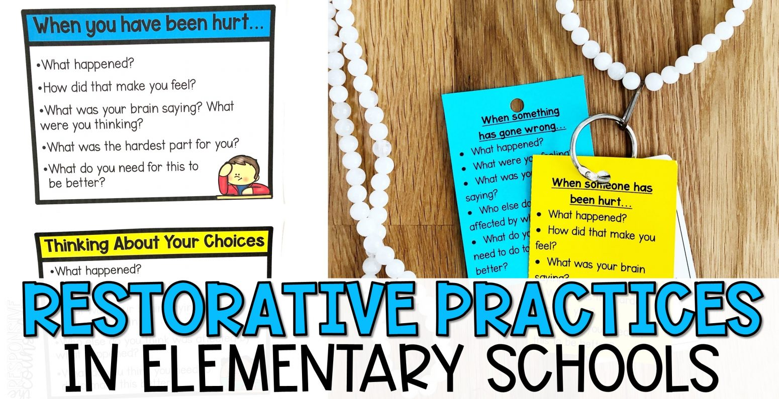 restorative practices in elementary schools