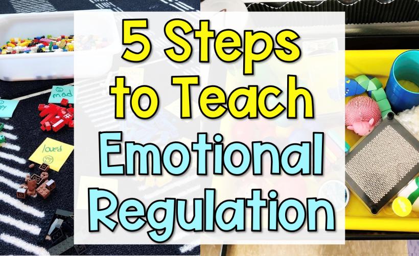5 Steps to Teach Emotional Self-Regulation