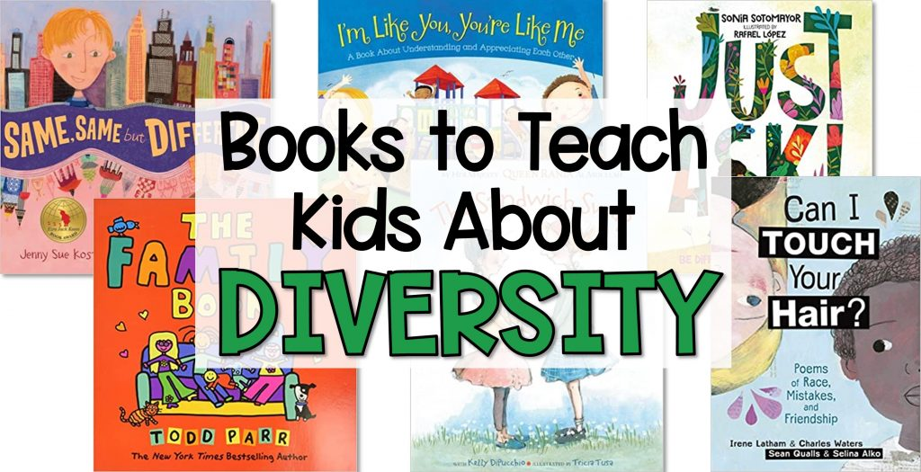 books to teach kids about diversity