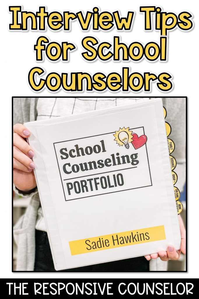 Interview tips and questions for school counseling